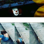 We have blank down here clown template  meme template blank