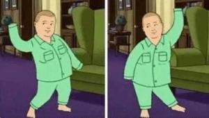 Bobby dancing long sleeves Dancing meme template