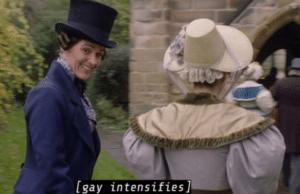 Gentleman Jack Gay intensifies Gay meme template