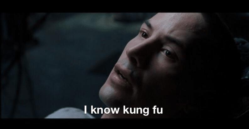 Meme Generator - I know Kung Fu - Newfa Stuff