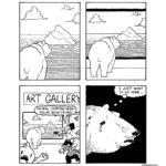 comics comics text: 1 JUST WANT TO GO HOME... ART CALLER ANIMAL CONTROL HERE! POLAR BEAR FOUND! ,  comics