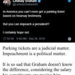 political-memes political text: Lindsey Graham • @LindseyGrahamSC In America you can