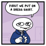 political-memes political text: HOW DO RACISTS GO TO WORK? SAME AS you, LibTARD. FIRST WE PUT ON A DRESS SHIRT. THEN WE GRAB OUR BADGE.  political