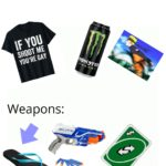 dank-memes cute text: Area 51 raid starter pack Weapons:  Dank Meme