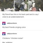 wholesome-memes cute text: saltysurvivors Gonna tell y