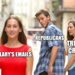 political-memes political text: S.A8V111H S.%wnü swonanag  political