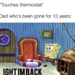 other-memes other text: *Touches thermostat* Dad who