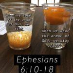 political-memes political text: Wh en •we off. the armor of God, we When we wear, the armor of GÖdÄwe—stay Ephesians 6: 10-18  political