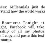 political-memes political text: Boomers: Millennials just don