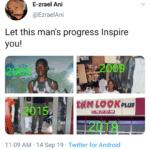 wholesome-memes black text: E-zrael Ani @EzraelAni Let this man