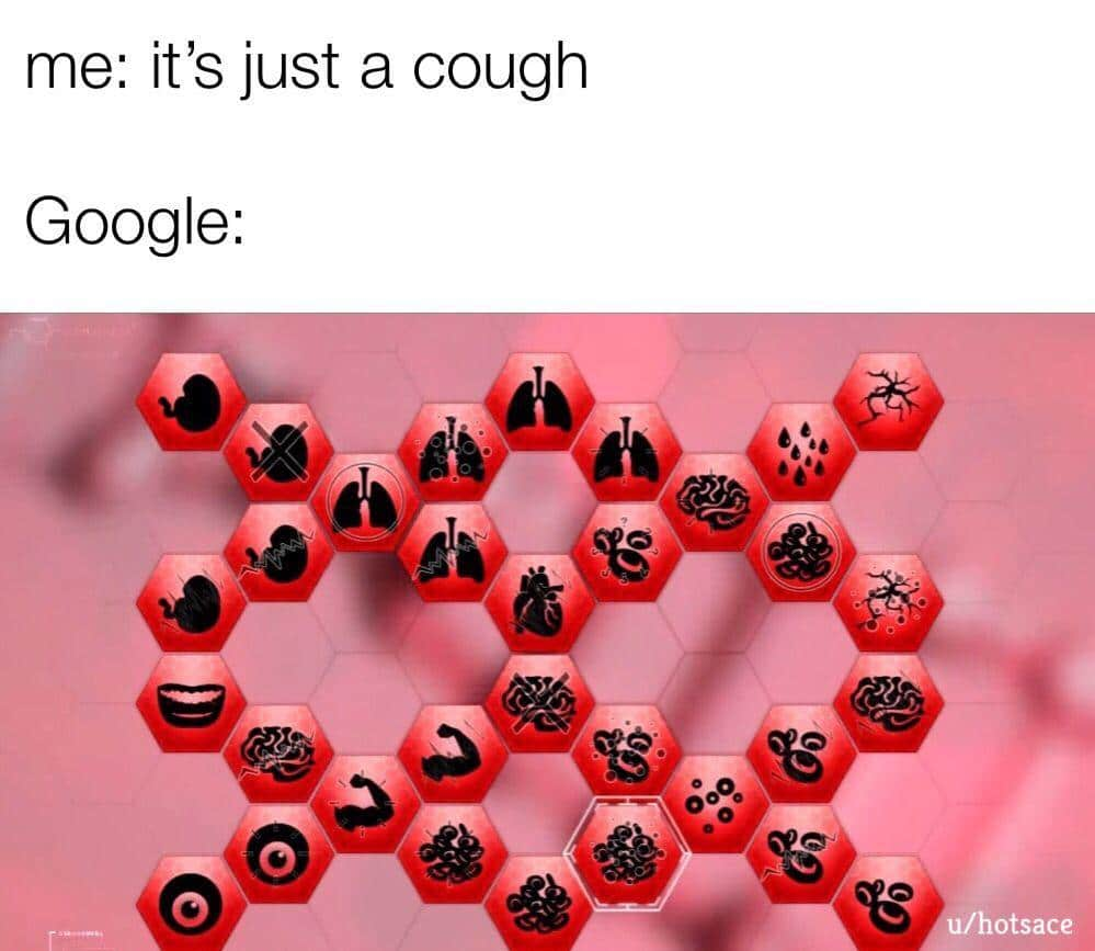 cute other-memes cute text: me: it's just a cough Google: otsace