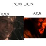 star-wars-memes prequel-memes text: U ES  prequel-memes