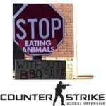 dank-memes cute text: STOP I EATING SAUC COUNTER STRIKE GLOBAL OFFENSIVE  Dank Meme