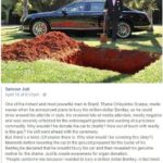 wholesome-memes cute text: Ta imcu.r Jutt April 18 at6:51pm-e One ofthe richestand most powerful men in Brazil, Thane Chiquinho Scarpa, made waves when he announced plans to bury his million-dollar Bentley, so ha could drive around his afterlife in sb,