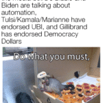 yang-memes biden text: when you