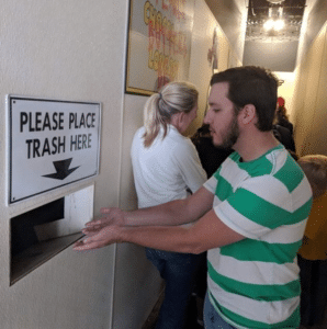 Please place trash here Opinion meme template