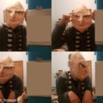 Gru irl (blank) Pixar meme template blank