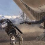 General Shepherd Shooting Ghost Gaming meme template