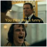 Joker laughing  meme template blank Joker, laughing