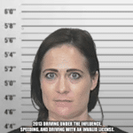 "political-memes political text: TRUMP,S CURRENT PRESS SECRETARY STEPHANIE GRISHAM! NETHER THE iBESTiOR iBRlGHTEST"" 2013 DRIVING UNDER THE INFLUENCE, SPEEDING, AND DRIVING WITH AN INVALID LICENSE V 2015 DRIVING UNDER THE LET GO FROM ARIZONA FOR CHEATING ON EXPENSE REPORTS LET GO FROM MINDSPACE SD AGENCY FOR PLAGIARISM CHARGES.  political"