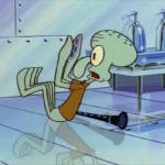 Squidward fetal position Spongebob meme template blank  Spongebob, Squidward, Future