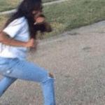 Woman fighting girl Vs meme template blank
