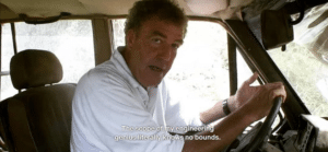 The scope of my engineering prowess… Top Gear meme template