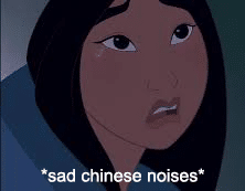 Sad Chinese noises Movie meme template