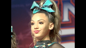 Sassy cheerleader Reaction meme template