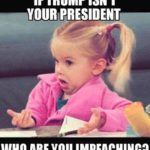 political-memes political text: IF TRUMP ISN