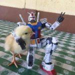 Transformer hugging chick.  meme template blank Hugging, Transformer, Chick
