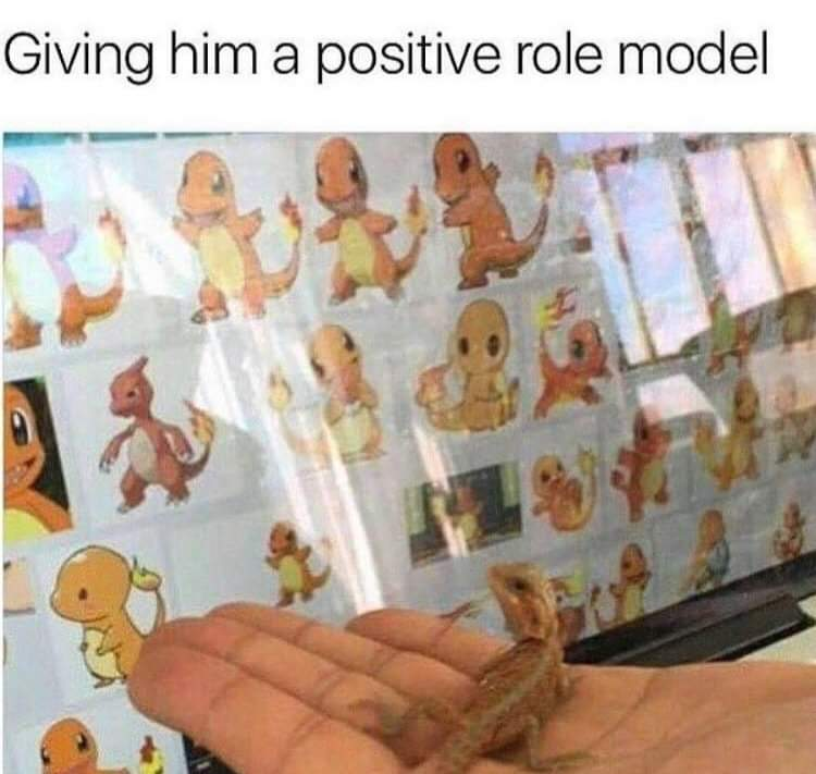 cute wholesome-memes cute text: )iving him a positive role model