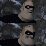 Mr. Incredible Evil Smile Pixar meme template blank  Mr. Incredible, Evil Smile, Pixar, The Incredibles
