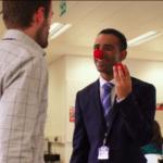 Holding clown nose Clown meme template blank  Clown