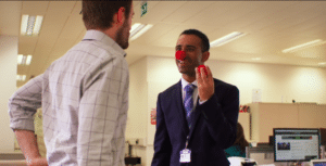 Holding clown nose  Clown meme template