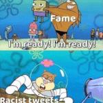 spongebob-memes spongebob text: Famous Person Fame l