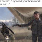 "dank-memes cute text: Little cousin: ""l opened your nom folder and...  Dank Meme"