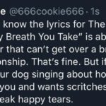 wholesome-memes cute text: Cookie @666cookie666 • Is We all know the lyrics for The Police hit