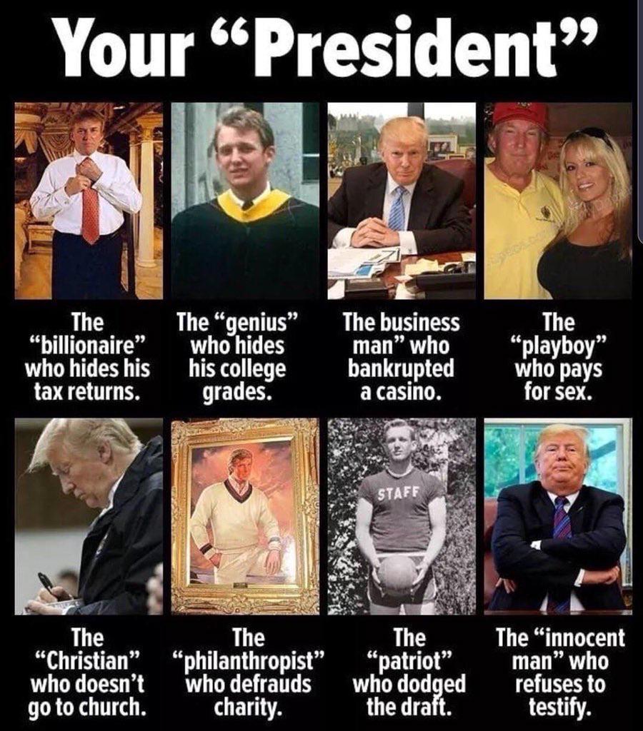Political Meme, Trump, Boomer, Stupid, Donald Trump political-memes political text: Your