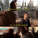 star-wars-memes prequel-memes text: Anakin is the fathéfr-isntt-he? No, it
