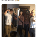 wholesome-memes cute text: No bro left out  cute