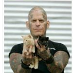 wholesome-memes cute text: naugh@ylittlevegan: DID YOU GUYS KNOW THERE IS A BIKER GANG CALLED RESCUE INK THAT BREAKS UP DOGFIGHTING RINGS, CONFRONTS ANIMAL ABUSERS, CONFISCATES NEGLECTED ANIMALS AND INVESTIGATES STOLEN ANIMALS  cute