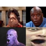 Surprised faces meme template  meme template blank Faces, Surprised