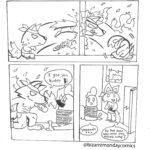 comics comics text: Soł You Orz So he @bizarremondaycomics  comics
