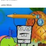 spongebob-memes spongebob text: Thugs: HE