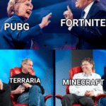 dank-memes cute text: PUBG *iTERRARlA F9RTNlTE MINECRAFT u/Katsunai  Dank Meme