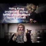 "avengers-memes thanos text: Hong Kong being egåssdå M&béing portive of th se but not abl do much caus wu is a Ameri* •o"", gonna do? F fucks sake l"
