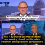 political-memes political text: May 24 2015 Bernie Sanders may be the most unusual candidate we