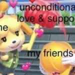 browse wholesome memes isabelle wholesomely hitting mario with unconditional love and support