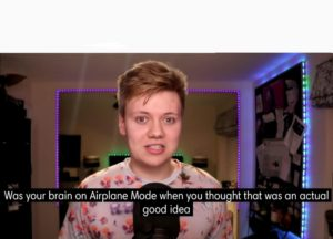 [Pyrocynical] was your brain on airplane mode YouTube meme template